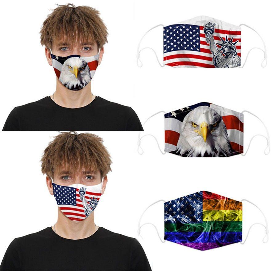 Crânio do partido da máscara designer de rosto Outdoor Halloween Party Sports Cosplay rosto máscaras quente reutilizável poeira Máscara à prova de vento de algodão