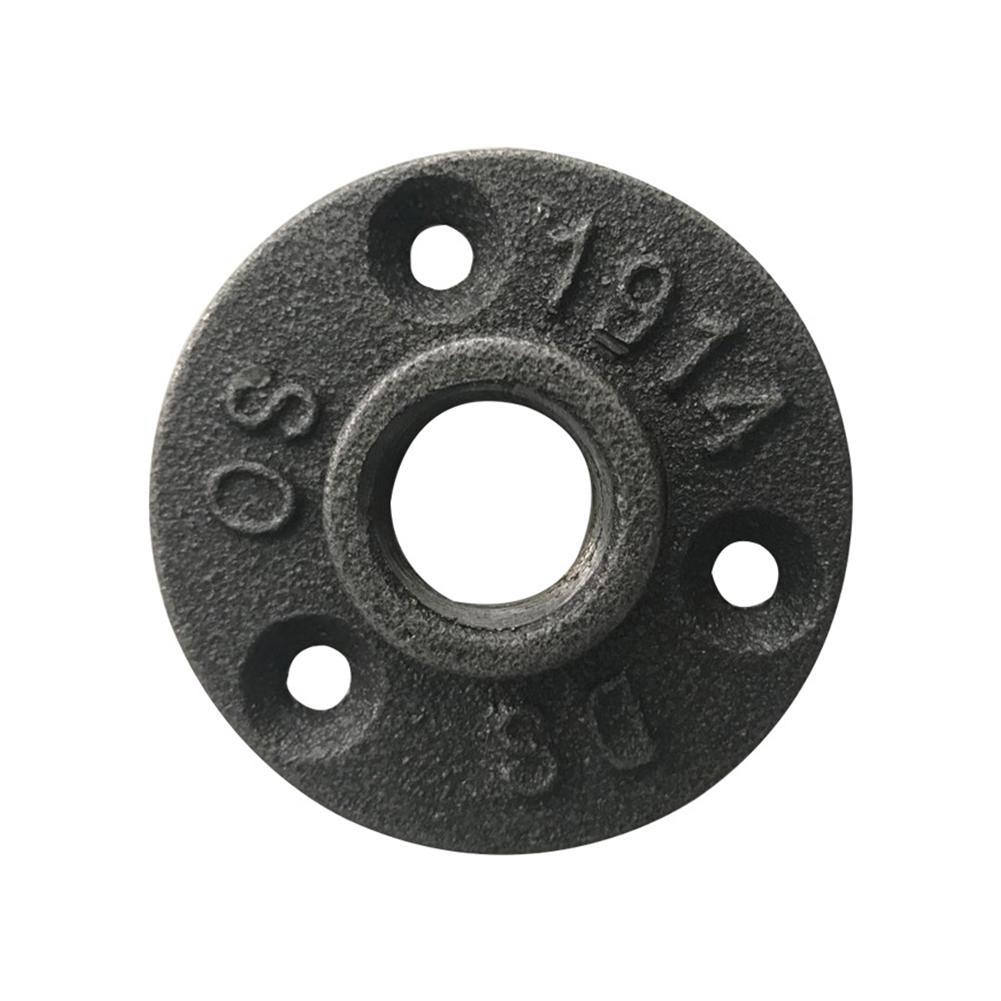 Juego de 4 tubos de hierro maleable 1,9 cm DN20