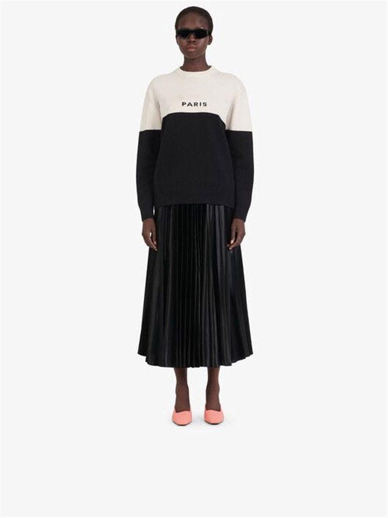 Suéter 20 otoño las nuevas mujeres de moda femenina larga del High Street Elemento Ropa 2-Style Seleccionar