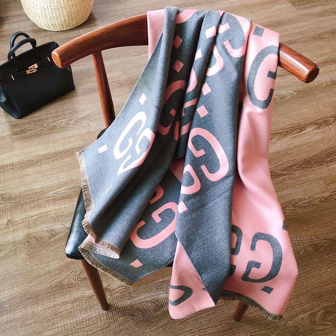 2020 GG di modadonne di marca sciarpa e uomini sciarpa classica, squisita scialle dearegalo sciarpa di trasporto libero cachemire seta