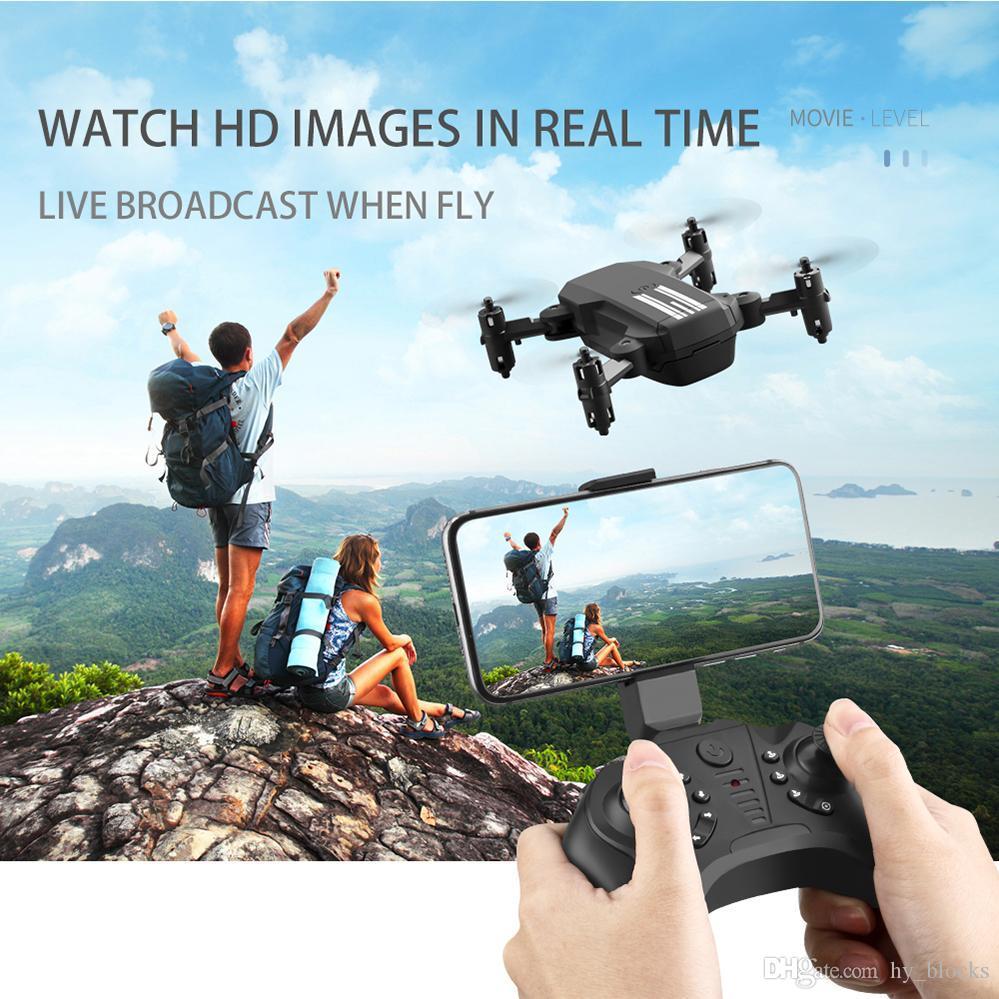 Mini RC Drone HD 4K 1080P WiFi FPV Camera Drones Quadcopter Air Pressure Altitude Hold Mode Remote Control Drone Simulators Toys