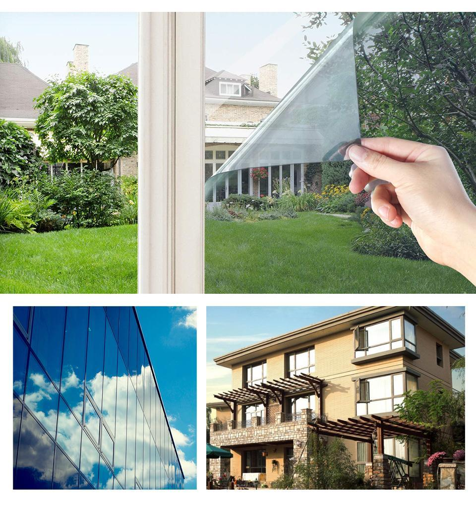 Multi Width Length 2 3 5 M One Way Mirror Window Film Self Adhesive Reflective Privacy Glass Tint Heat Control Solar Film Large Window Decal Large Window Decals From Yiyu Hg 13 97 Dhgate Com
