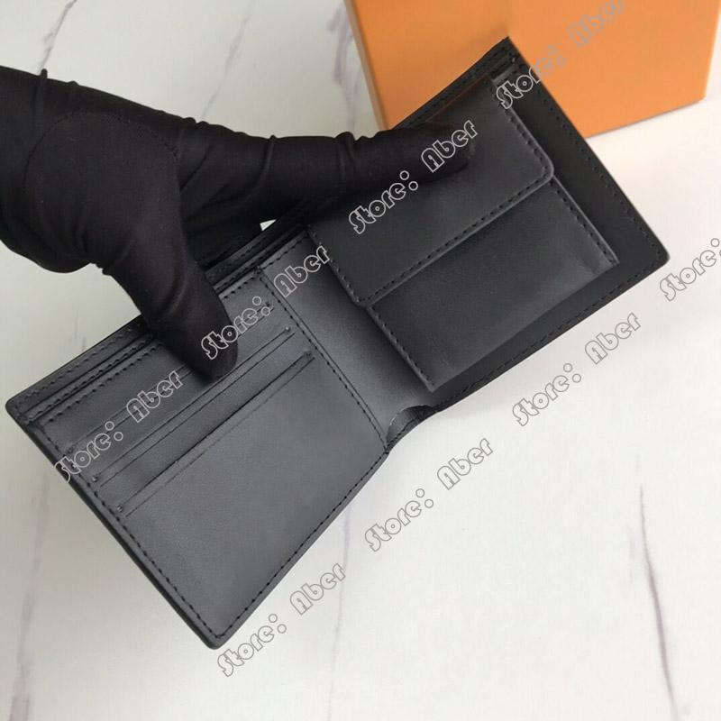 Multiple Marco Brieftasche Münze Geldbörsen N63336 Leder Designer Mode Geldbörse Kompartimentskarte Tasche Top Halter Womens Men Multi Wallet Qu HJXB