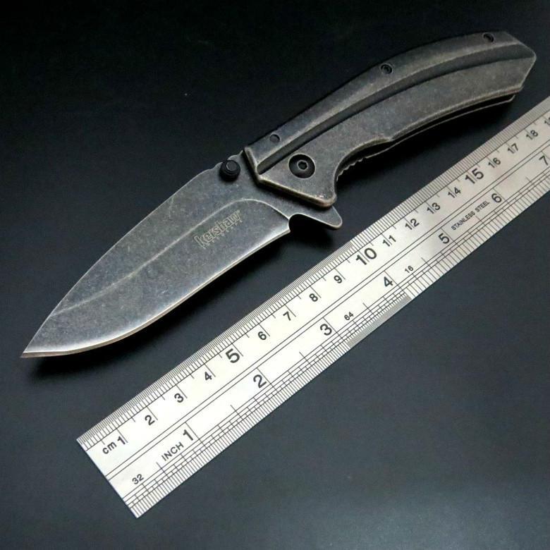 OEM Kershaw 1306 Ferramentas alça 8Cr13mov AÇO Camping Survival faca dobrável presente faca ao ar livre