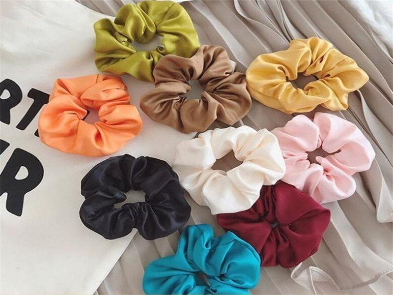 Hair Rubber Bands Girl Headbands Fashion Women Elastic Hair Band Fashion Accessories 9pc color