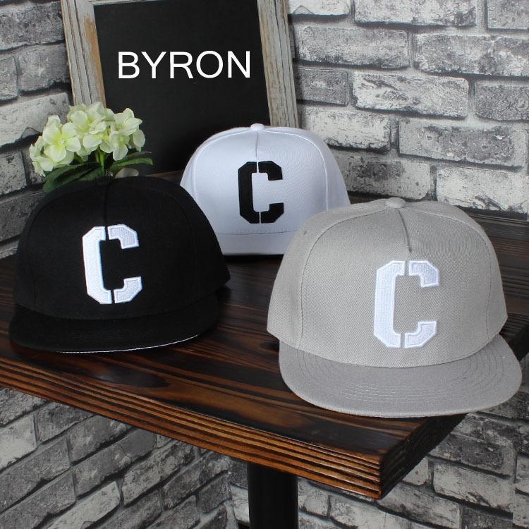 jtHd9 Man Zheng Kai aynı kap hip kapak İşlemeli hiphop şapka tarzı yaz Kore tarzı moda nakış C- mektup hip hop şapka Koşu