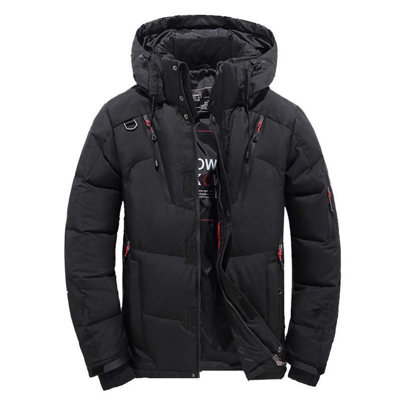 남성 코트 남자 패션 캐주얼 따뜻한 겨울 모자 분리는 지퍼 코트 착실히 보내다 재킷 톱 블라우스 남성 고품질 블라우스 탑