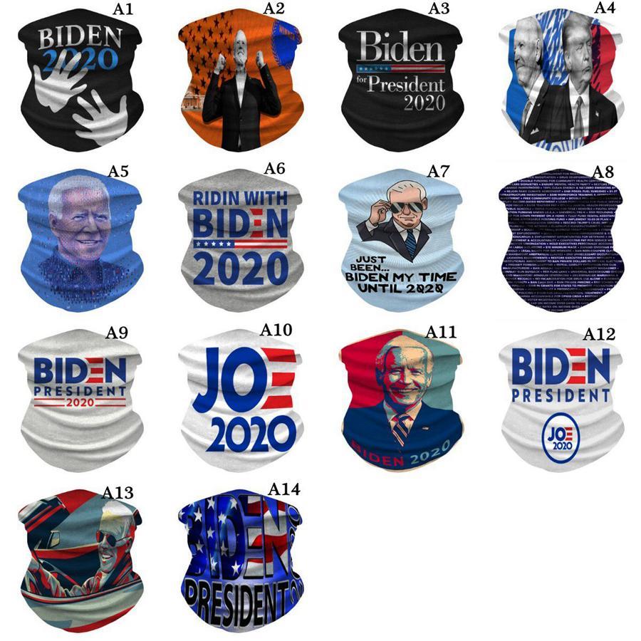 Biden Trump magica Bandana Sciarpa 23 Styles Stati Uniti d'America Elezioni multi funzione antipolvere Protezione mascherina mascherine Sciarpa lavabile in bicicletta OOA8292