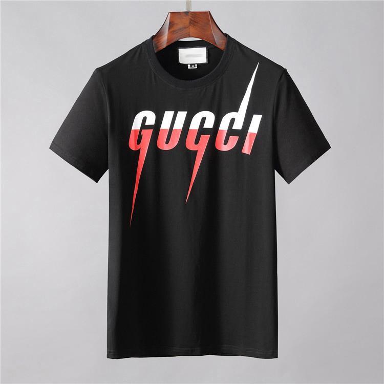 2020 T-shirts Hip Hop blanc Vêtements pour hommes Mode de Londres Mode Tendance Marque Casual Hommes Méduse T-shirts pour hommes de lettres T-shirts