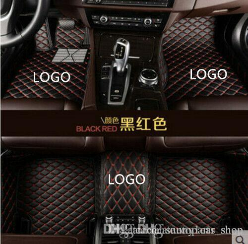 Adecuado para Audi A3 A4 A5 A6 A7 A8 A7 Q3 Q5 Q7 RS5 RS7 S3 S4 S5 S6 S7 TT Car Tapetes