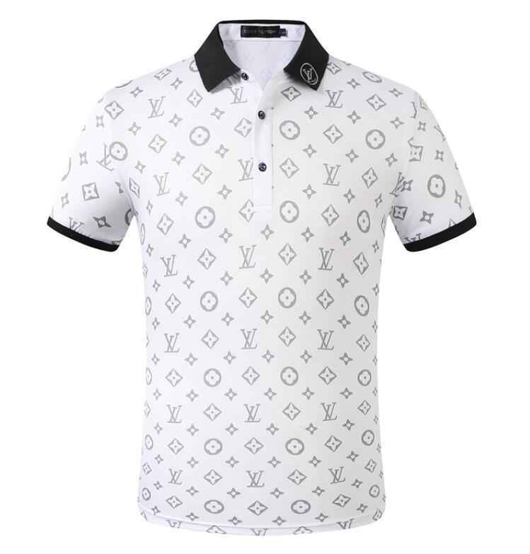 Envío libre para hombre de la camiseta estilista famoso hombre de manga corta blanca Parejas de alta calidad de algodón camisetas M-2XL