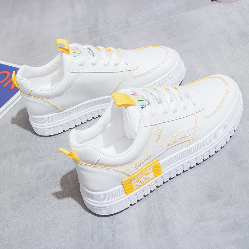Femmes Chaussures Découpes dentelle toile creux respirante Plate-forme Chaussures plates Femme Sneakers 2020 Nouveau mode d'été Avslappnad Chaussures Y200801
