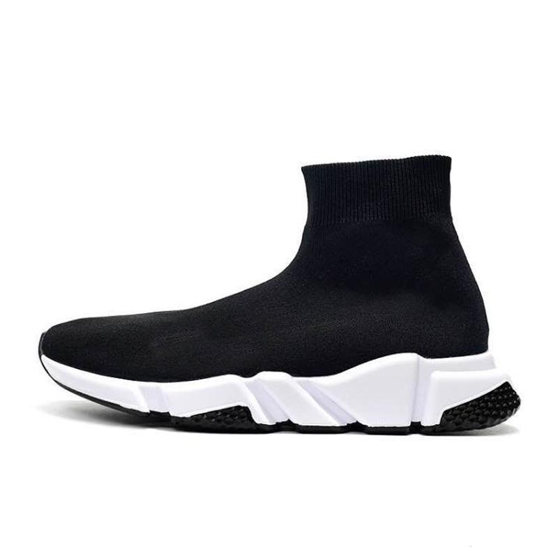 2020 calcetín diseñador de zapatos para hombre de la moda brillo Speed Trainer Teja de triple plataforma de hombres hococal mujeres de la moda zapatillas de deporte de los zapatos ocasionales 36-45