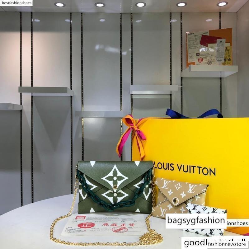M67600LOU1S üç parçalı çanta Tote Çanta Debriyaj Kadınlar Alışveriş Çanta çanta Çiçek bayanlar kompozit Messenger çanta