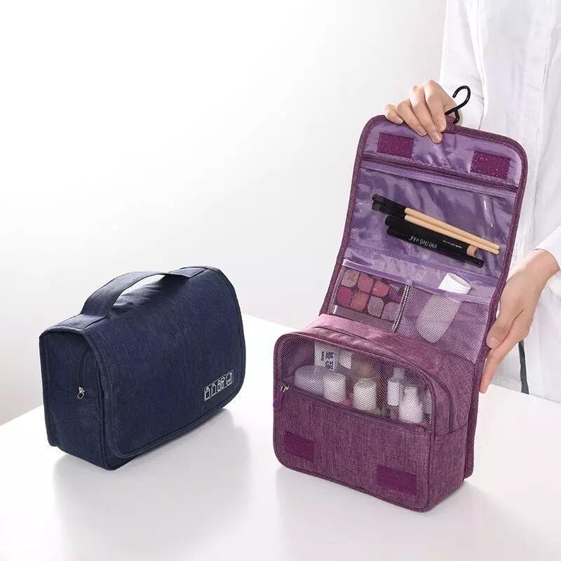 Kozmetik Yeni Kadın Kozmetik Çantası Yıkama Torbası Çanta Makyaj 2020 AGVFJ