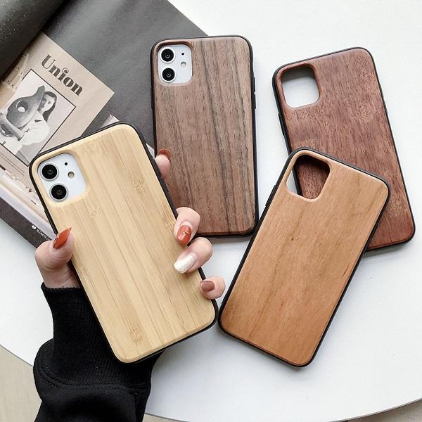 هوت مبيعات النقش تصميم TPU الخشب حالة الهاتف