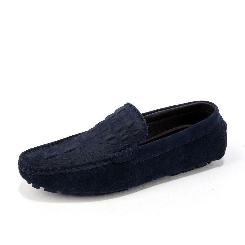 Italienisch Crocodile Schuhe Herren Leder Loafers Luxus Mokassins für Herren Wohnung Driving Schuhe Casual Boots-Schuhe Große Größen-38-46