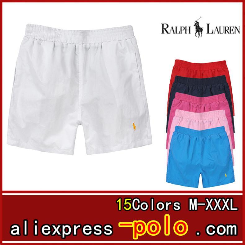 2020 marka Erkekler Şort Üst Kalite Sis ÖNEMLİ Boxy Giyim Moda Erkek Kısa Pantolon Ralph Lauren