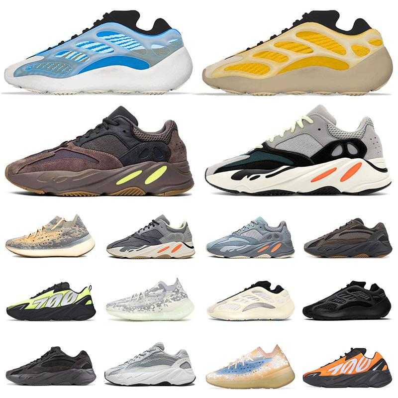 zapatos Kanye West zapatillas hombre mujer Stockx Adidas Yeezy Boost 700 v3 Running Shoes Azael Alvah Alien Mist yezzy wave runner 700 v2 MNVN Carbon Blue Vanta Sneakers Trainers