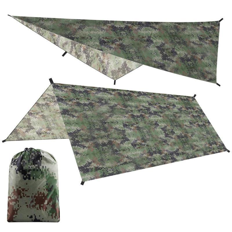100X145CM tenda da sole Shelter Beach esterna Camping Garden Sun tenda tetto dell'ombrellone Amaca pioggia Tarp ombra della tenda impermeabile