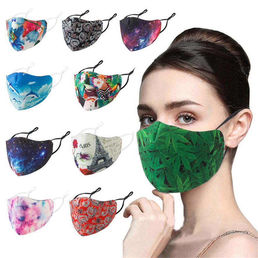 mascarillas anti-niebla oído hebilla ajustable puede ser utilizado en repetidas ocasiones la venta caliente enmascarar de manera adulto protector solar a prueba de polvo lavable máscara transpirable