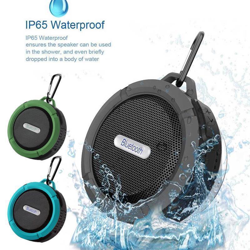 Sucker C6 Mini Bluetooth Speaker Portable Waterproof Wireless Stereo Speakers Bluetooth Reciever Mp3 Music Player For Iphone Xiaomi Samsung