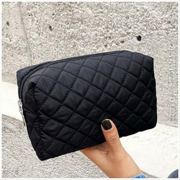Viaggi Nuovo Donne portatile multifunzionale sacchetto dell'estetica di trucco Caso Viola Arancione Custodia toeletta dell'organizzatore bagagli Nero Blu Rosa