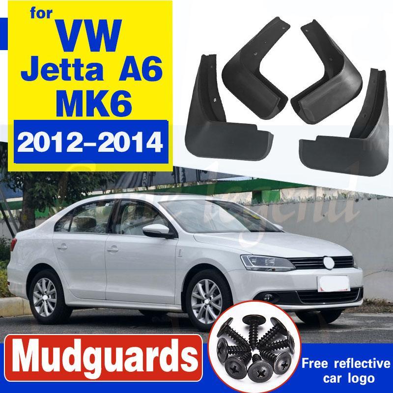 für Volkswagen VW Jetta A6 5C6 Mk6 6 2012 ~ 2018 Fender Mud Guard Spritz Flap Radschützer Zubehör 2012 2013 2014 2015 2016 2017