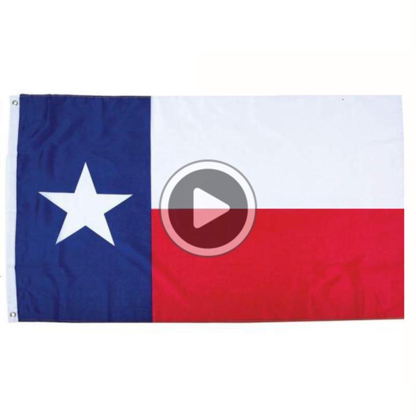 50 adet direk fabrika 3x5fts teksas Tarvis amerikan tejas Teksaslı devlet bayrağının birleşik devletleri 90x150cm