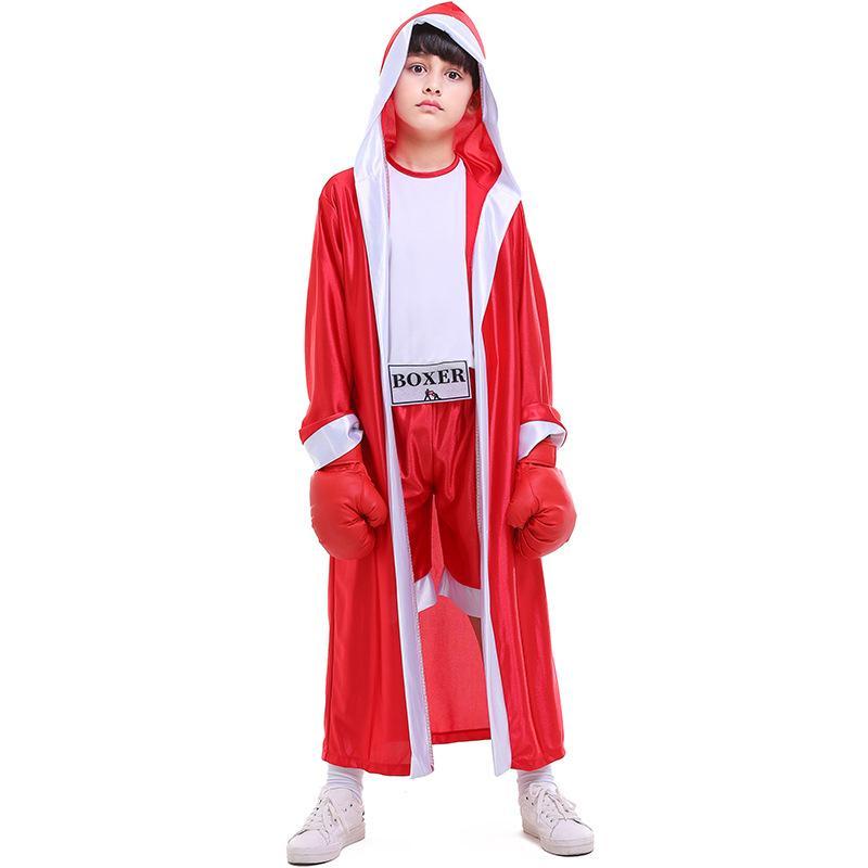 Bambini Pantaloncini da pugile KickBoxing Robe Combatti uniformi Shorts Boy Girl Muay Thai Capo bambini Grappling Festival Abbigliamento Fitness