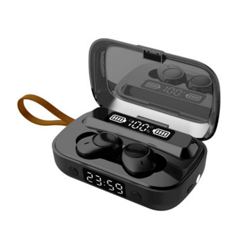 Auricolare senza fili Bluetooth A13 Cuffie TWS 5.1 Auricolari Display a LED Stereo Sport Earbuds con la scatola di vendita al dettaglio