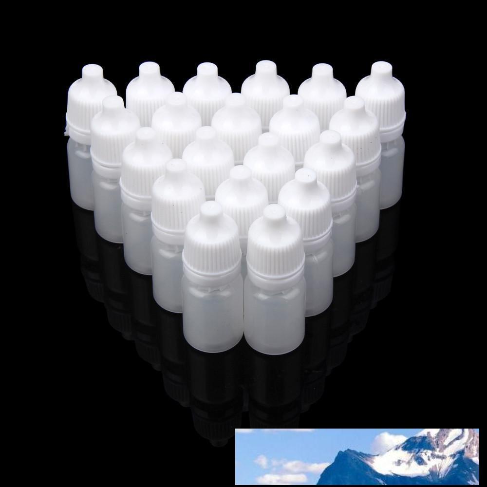 50PCS 5 мл / 10 мл / 15 мл / 20ML / 30мл / 50ML Пустые пластиковые сжимаемые бутылки капельницы глаз Жидкие Dropper многоразовая бутылка десантный 18may