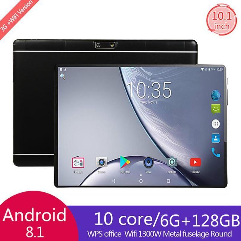 Versione globale da 10 pollici 4G LTE Tablet PC Dual SIM Telecamere Android 9.0 Octa Core 6GB RAM 128GB ROM IPS 5G WiFi Bluetooth