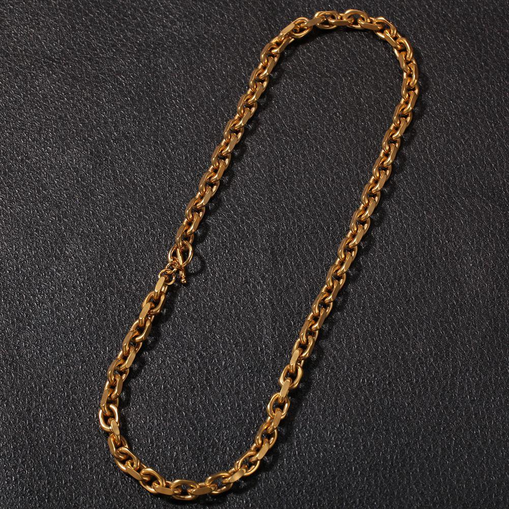 Mens Hiphop croce collana catena braccialetto a catena O, corda di modo acciaio inossidabile catene collane, hiphop all'ingrosso jewelerys accessori