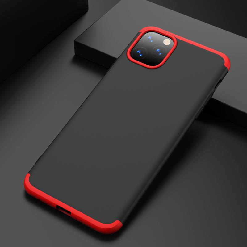 Cell Phone Holsters Cellphone Case GKK PC 360 Degrees Full Coverage Protective Case Back Cover for Iphone 11 SE 2 samsung