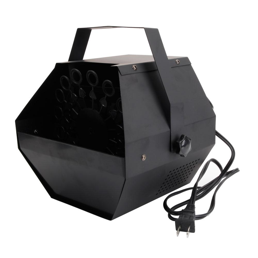 캐리에 웨딩 / 바 / 스테이지 쉬운 블랙 버블 배우게 발전기 25W AC110V 미니 버블 머신 자동 송풍기