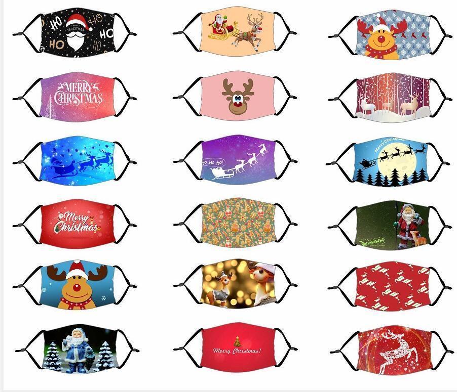 ABD Stok Tasarımcısı Yetişkinler Çocuk Maskeleri Chrismas Parti Maskeleri Filtre Ile Yıkanabilir Joker Yüz Maskesi Dijital Baskılı Maske Koruma Pamuk Maskeleri
