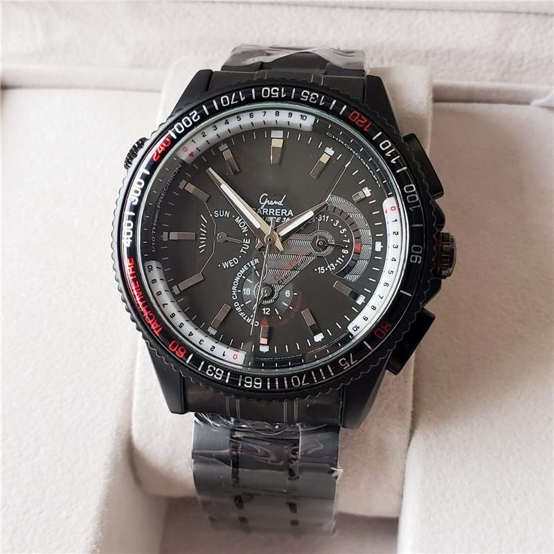 mens orologio di design degli uomini superiori di marca orologi di lusso Tag automatici meccanici sportivo in pelle orologio orologi militari dell'orologio quadrato degli uomini