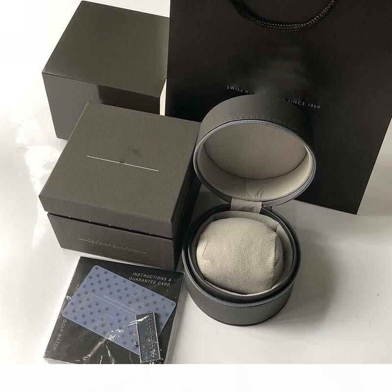 cajas de regalo reloj de pulsera para hombre original de papel interno de la caja exterior de folletos Tarjeta de Inman relojes de lujo de la buena calidad