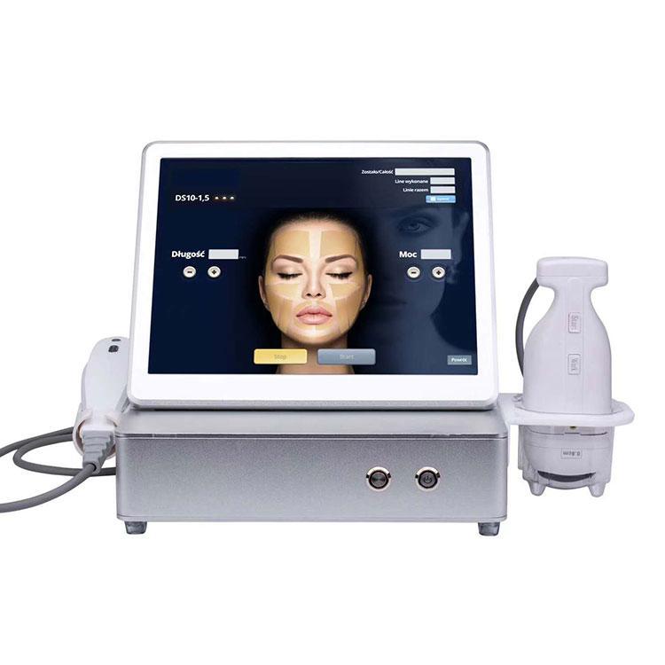 2 In1 Liposonix HIFU Makine Yüksek Yoğunluk Odaklı Ultrason Yüz Germe Ve Vücut Zayıflama Zayıflama Güzellik Salonu Ekipmanları