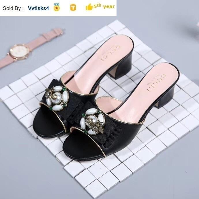 Best selling ladies bow black high heel sandals Casual Handmade Walking Tennis Sandals Slippers Mules Slides Thongs