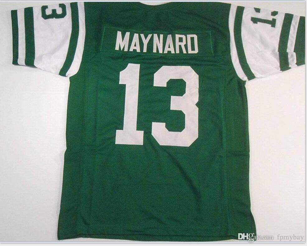 las mujeres de Hombres jóvenes Vintage Don Maynard # 13 cosido cosido tamaño RETRO jersey del fútbol de s-5XL o costumbre cualquier nombre o el número del jersey