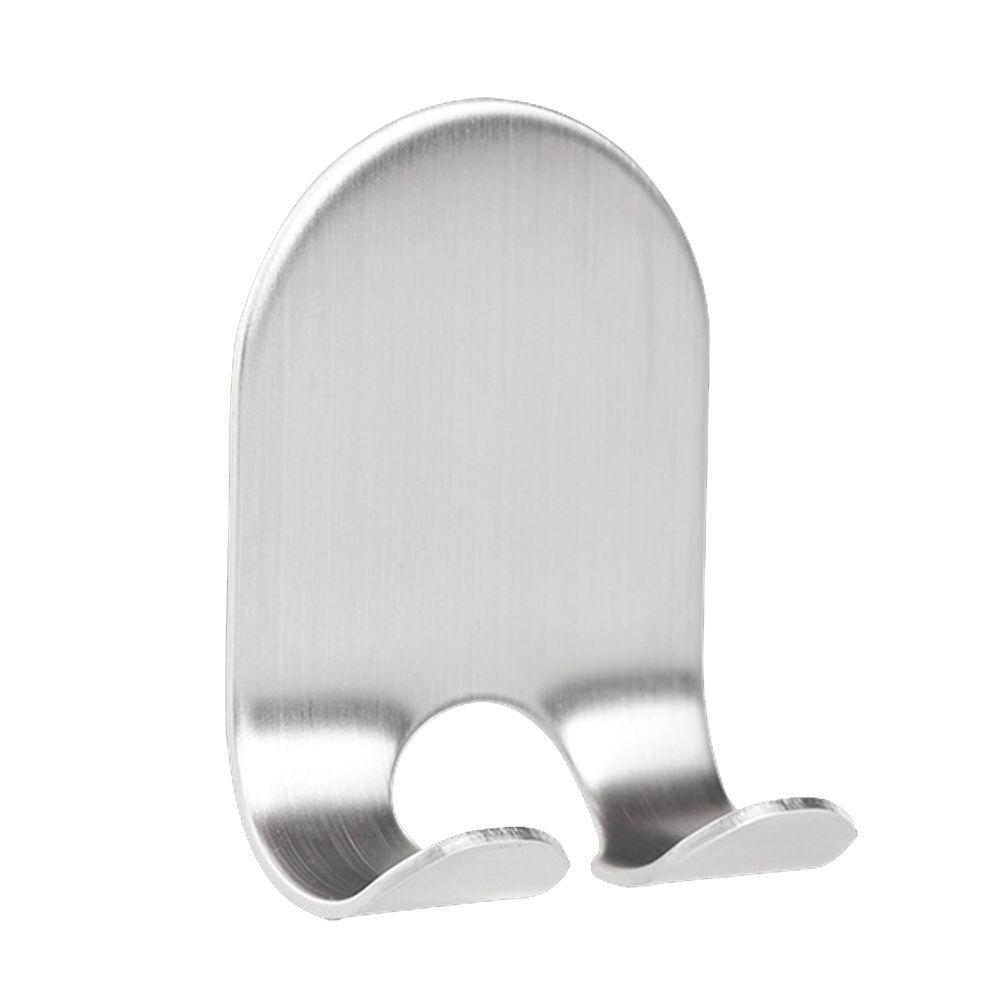 Rack de almacenamiento multifuncional Hook Tapones de acero inoxidable auto-adhesivo de la máquina de afeitar