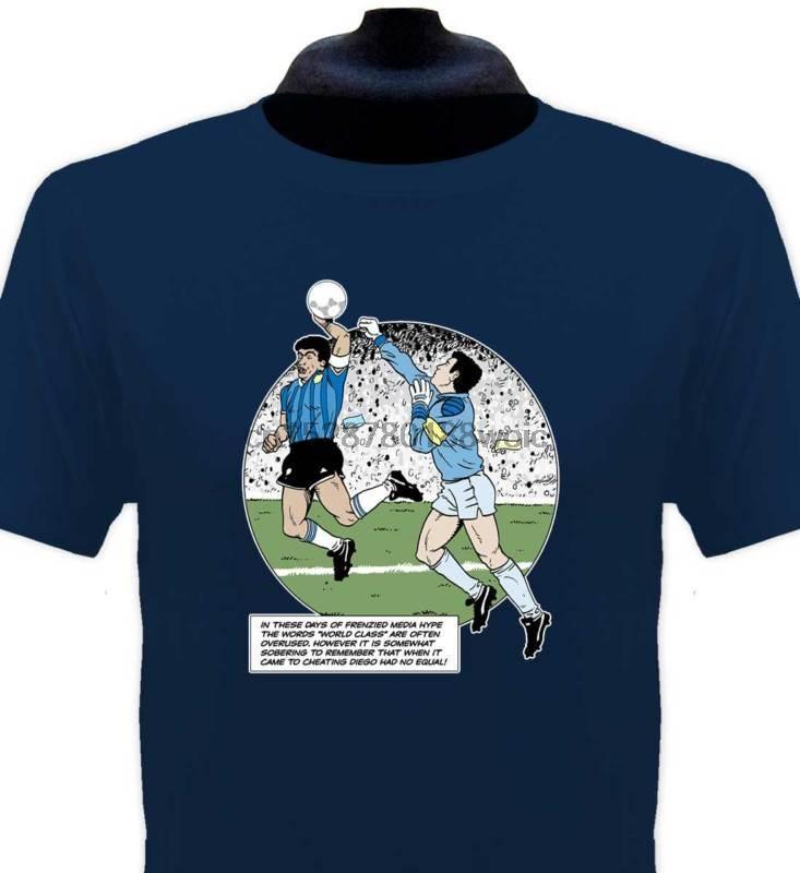 2019 Nouveau T-shirt d'été T-shirt Handball Maradona Toutes les tailles cool T-shirt