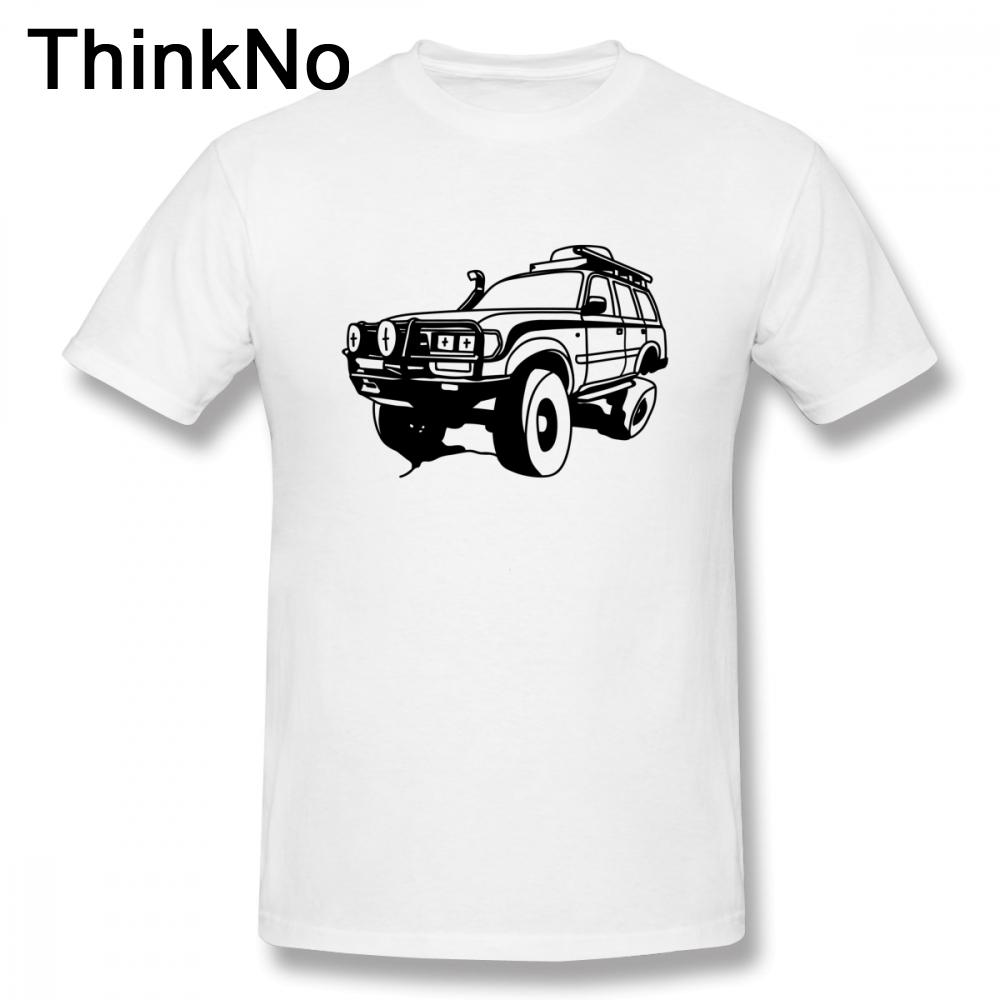 Uomini Cruiser Flessione disegno della parte superiore girocollo a maniche corte T Shirt Estate Camiseta Car Tees