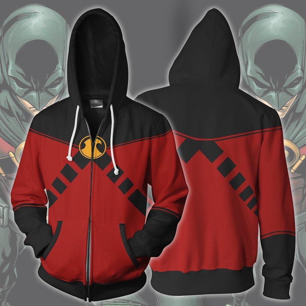 المطبوعة الملابس DC heroRobin 3D cosplaywear DC heroRobin خدمة خدمة اللعب سترة اللعب الملابس 3D المطبوعة سترة cosplaywear jGLVO ديسك