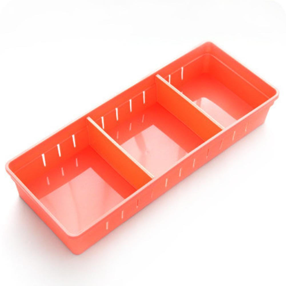 Ajustável Maquiagem Drawer Organizer Cozinha Divisor Caso Faqueiro Caixa de armazenamento