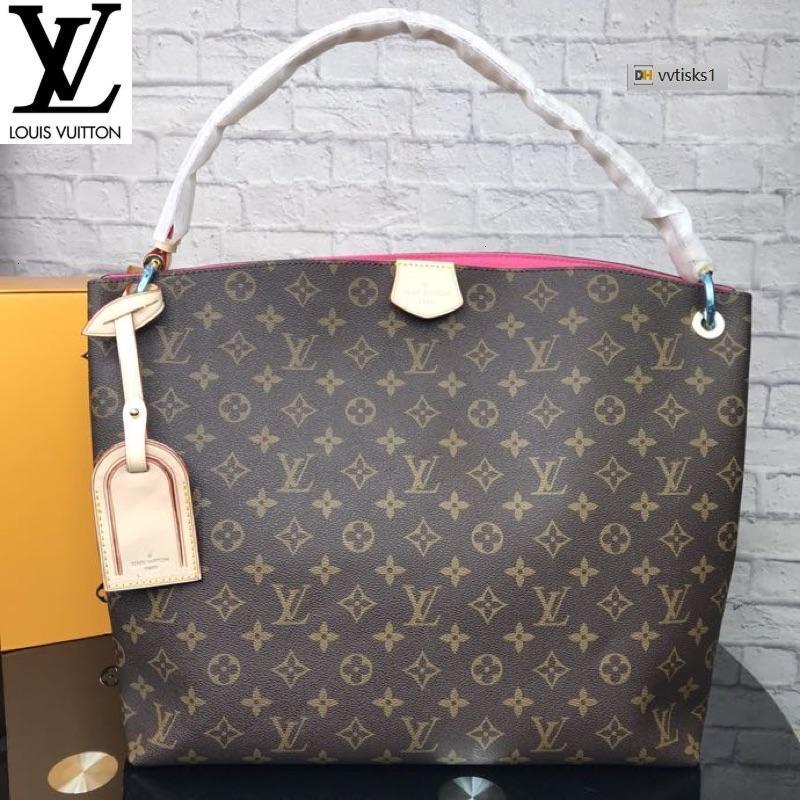 vvtisks1 W8VC Deep Brown m44045 (F5D1) Women HANDBAGS ICONIC BAGS TOP HANDLES SHOULDER BAGS TOTES CROSS BODY BAG CLUTCHES EVENING
