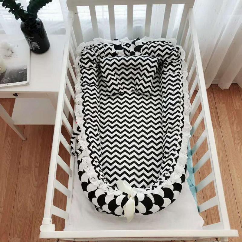 سرير الطفل المحمولة المضادة للضغط الرضع السفر عش سرير قابلة للطي بيونيك سرير لحديثي الولادة الطفل السرير الوفير روضة للأطفال