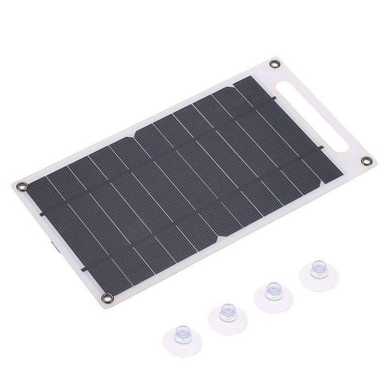 Панель солнечных батарей зарядное устройство USB порт Портативный High Power Paper Shaped монокристаллического кремния для сотового телефона RV кемпинга